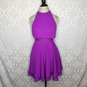 ASOS Illusion Skater Dress